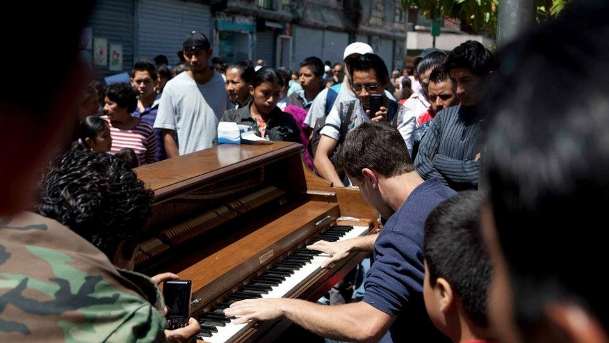 Dotan Negrin in Guatemala City.