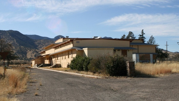 This image provided by The National Trust for Historic Preservation shows the Mountain View Black Officers' club in Fort Huachuca, Ariz. The club is on the 2013 list of 11 Most Endangered Historic Places released by The National Trust for Historic Preservation. This example of a military service club built specifically for African-American officers faces demolition by the U.S. Army. Preservationists say the Army has blocked efforts to list the property on the National Register of Historic Places. (AP Photo/The National Trust for Historic Preservation)