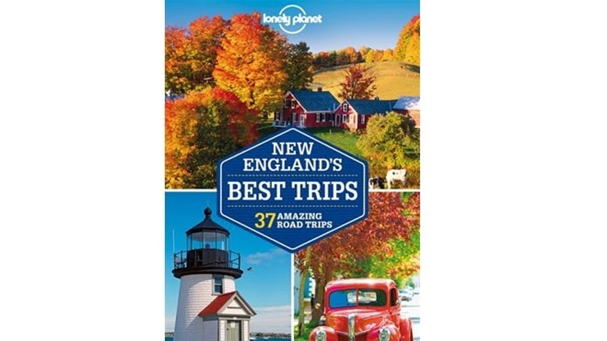 "The cover of ""New England's Best Trips,"" one of six in a series from the travel guidebook publisher out this year. """