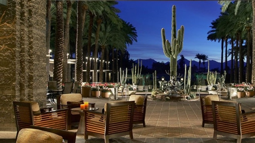 The Hyatt Regency Scottsdale Resort and Spa at Gainey Ranch.