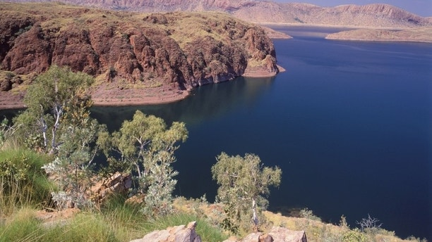 0-29774 Western Australia scenes Ord river and Lake Argyle