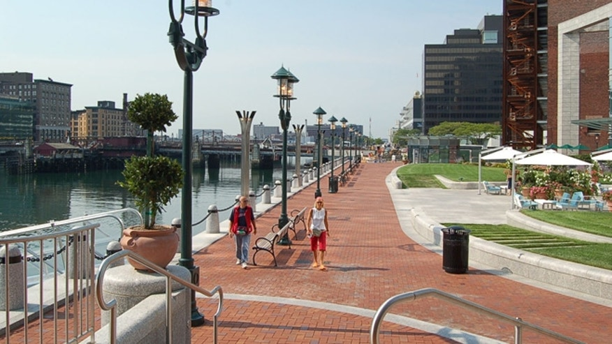 Boston's HarborWalk.