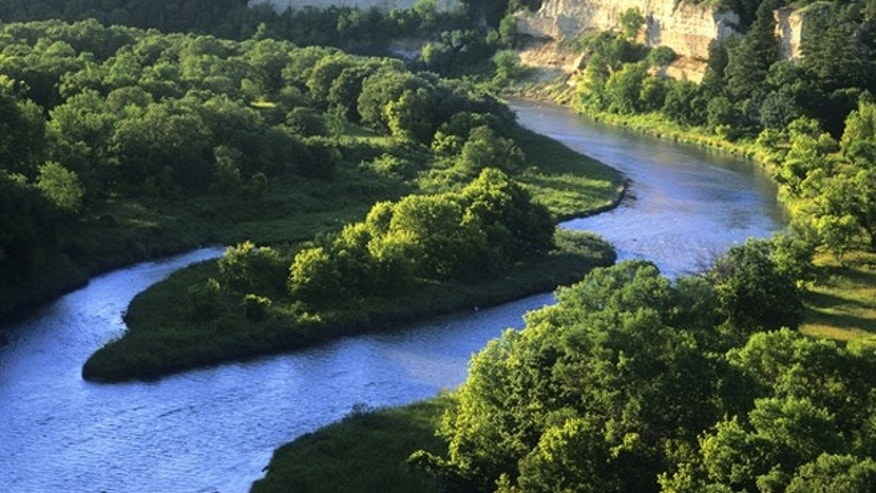 Nebraska's paddle-ready Niobrara River winds through six beautiful ecosystems.