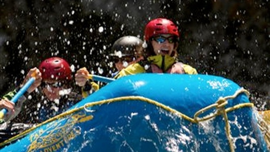 "Far and Away Adventures shows a rafting and ""glamping"" expedition on the Middle Fork of Idaho's Salmon River, also known as the River of No Return."