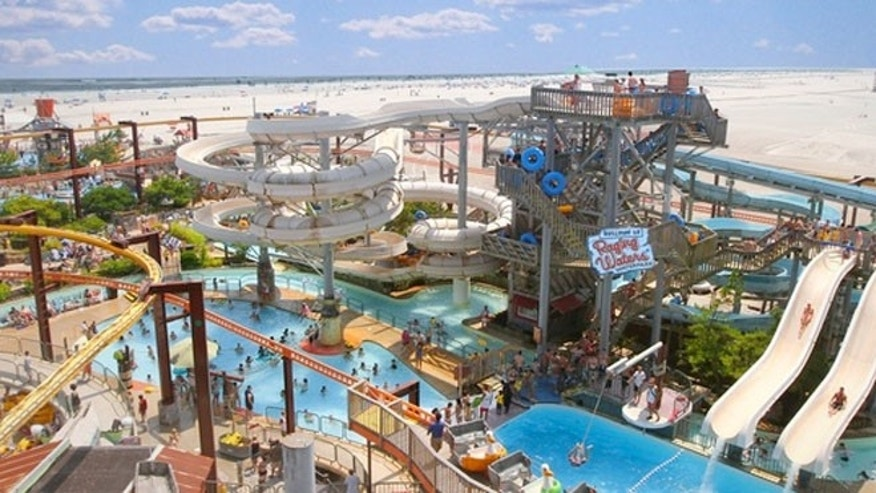 Raging Waters at Morey's Piers in Wildwood.