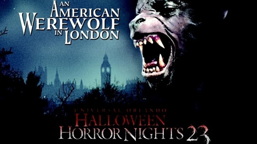 "Universal Orlando announced ""An American Werewolf in London"" will be the theme of a new haunted house at the park's Halloween Horror Nights 23."
