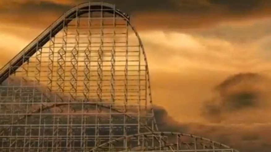 Six Flags Great America announced that they will be building a record-breaking wooden coaster, named Goliath.