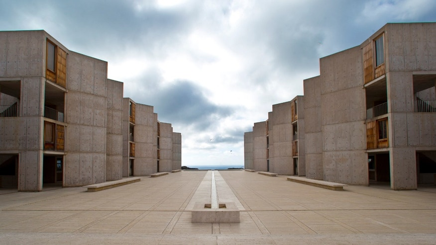 Oct. 3, 2013: The Salk Institute, designed by world renowned architect Louis I. Kahn.