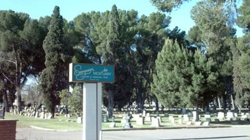 Evergreen Cemetery, Tucson, Arizona
