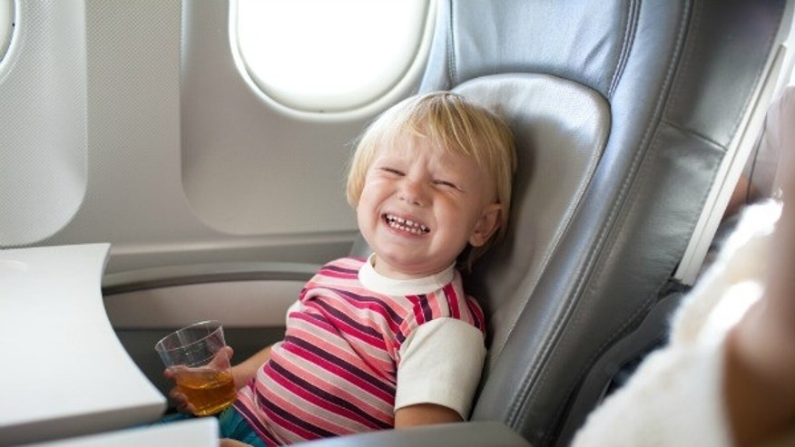 Disgruntled children can be one of the most stressful air travel scenarios for parents and surrounding passengers.