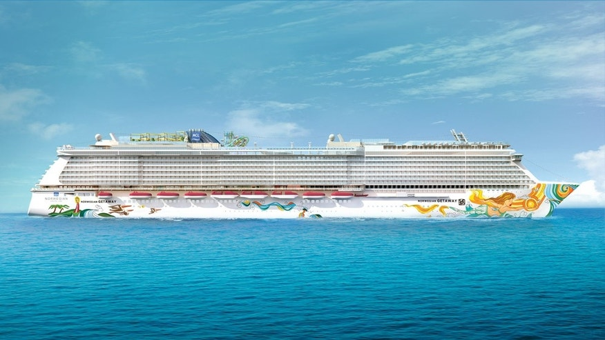 Norwegian Cruise Lines' brand-new ship Norwegian Getaway, after its maiden trans-Atlantic crossing, will be used as a floating hotel for Super Bowl weekend events themed on the beer brand Bud Light.
