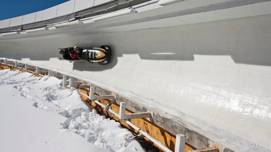 The Bobsled Experience at Lake Placid.