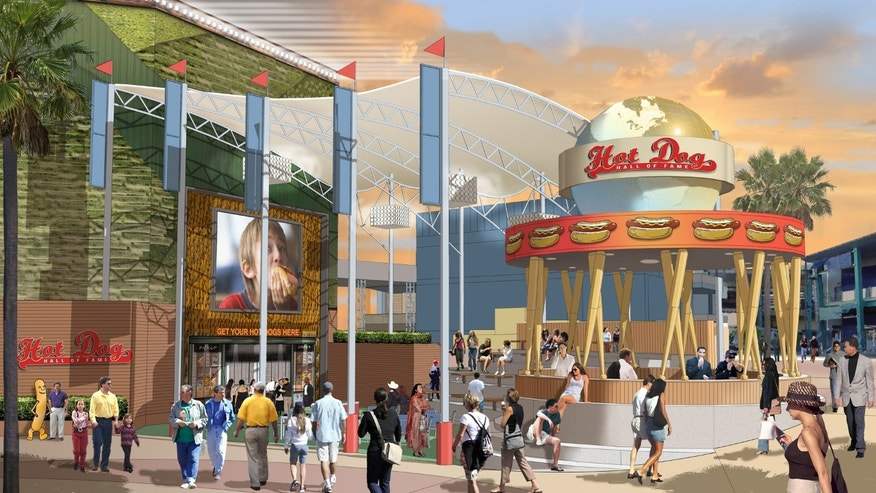 Hot Dog Hall of Fame will feature iconic hot dogs of all sorts.