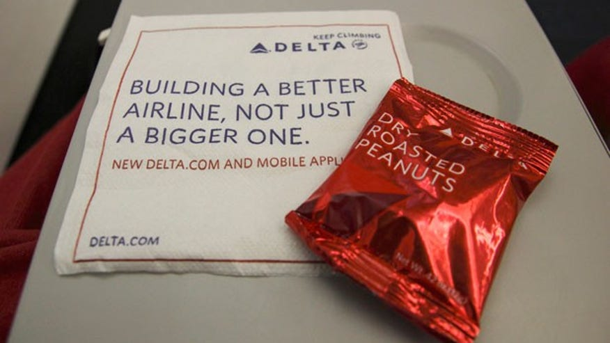 Delta Air Lines' Healthiest Snack: Salted Peanuts