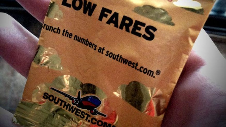 Southwest Airlines' Healthiest Snack: Salted Peanuts