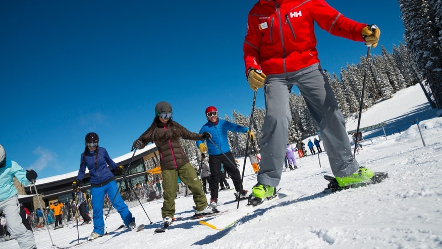 Making plans to ski separately with time for lessons, as well as some together time on intermediate slopes, can make the vacation work smoothly.