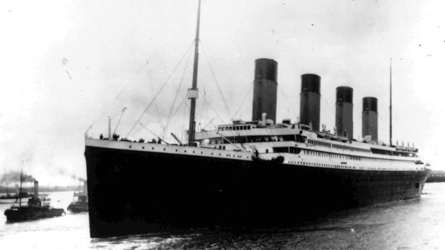 The original Titanic sank on April 15, 1912.