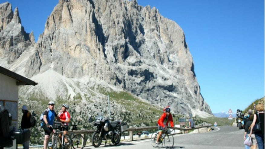 Agony and Ecstasy Bike Tour in The Dolomites