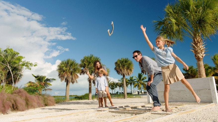 Adventurous families may find their way to the brand-new Blue Haven Resort and Marina on the leeward side of Providenciales.