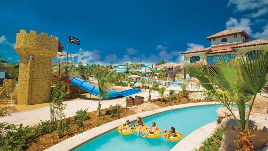 Pirate's Island Waterpark at Beaches Turks & Caicos.