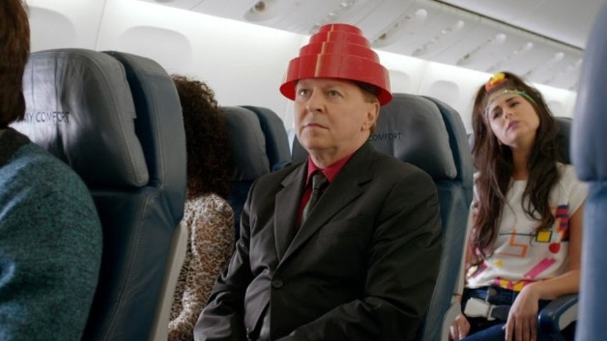 Gerald Casale from Devo makes a cameo appearance in Delta's new safety video, which crams in the best of a decade in a little over five minutes.