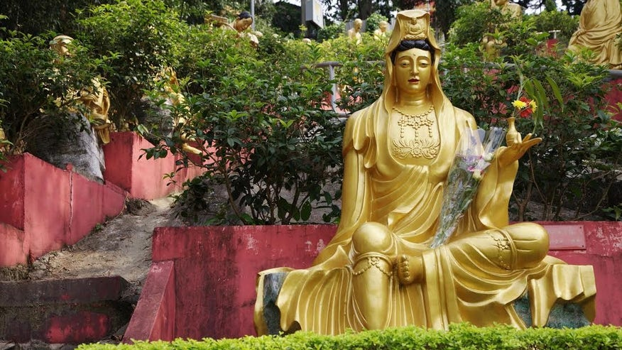 Visit the Ten Thousand Buddhas Temple and Sha Tin Racecourse