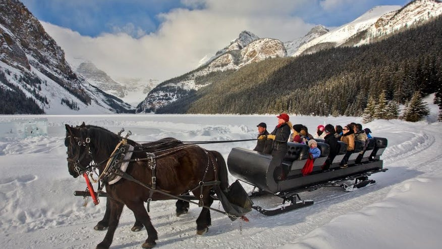 Brewster Adventures: Lake Louise, Alberta, Canada