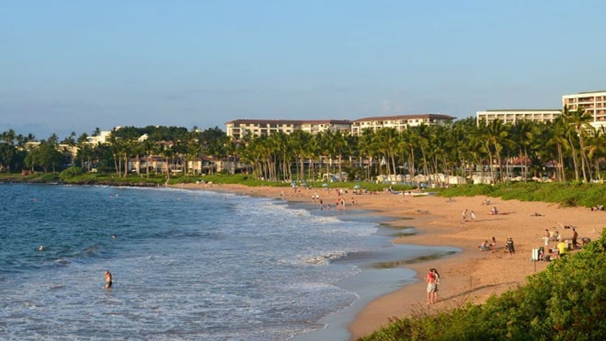 Wailea Beach, Wailea, Maui, Hawaii