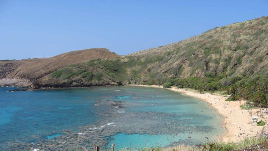 Hanauma Bay Nature Preserve, Honolulu, Oahu, Hawaii