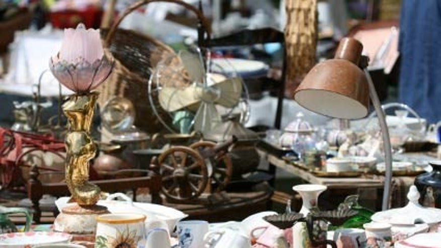 Brimfield Antique Show, Brimfield, Massachusetts