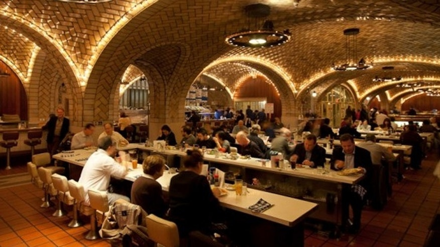 The Oyster Bar in Grand Central is where Don and his colleague Roger Sterling went for an afternoon of drinking.