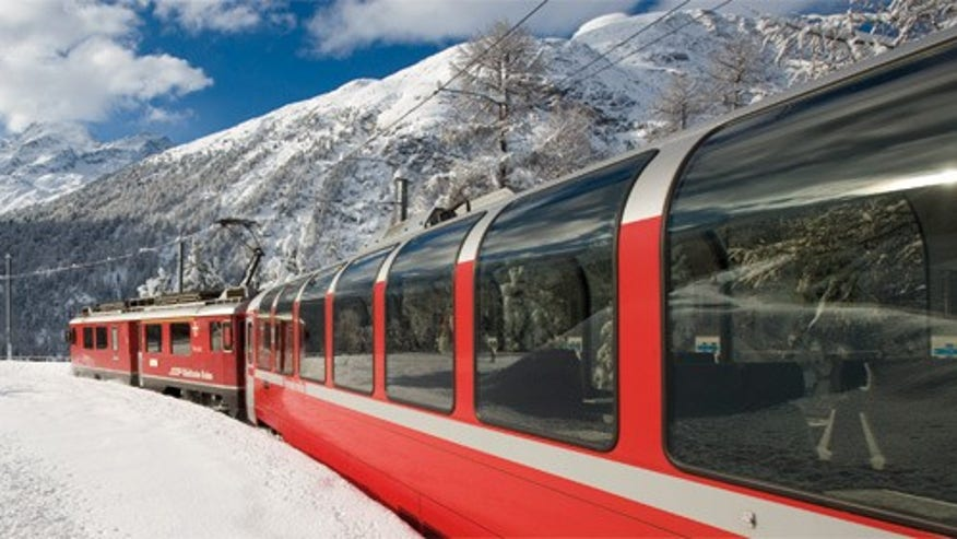 Tunnels Galore: The Bernina Express