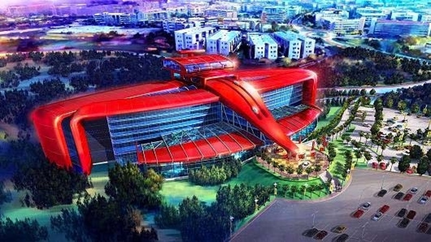 Ferrari announced that it will open its first-ever hotel in Ferrari Land, scheduled to open in 2016.
