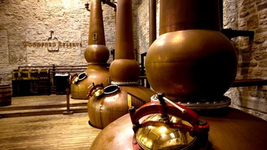 Kentucky's oldest and smallest distillery, Woodford Reserve crafts its bourbon in small batches.