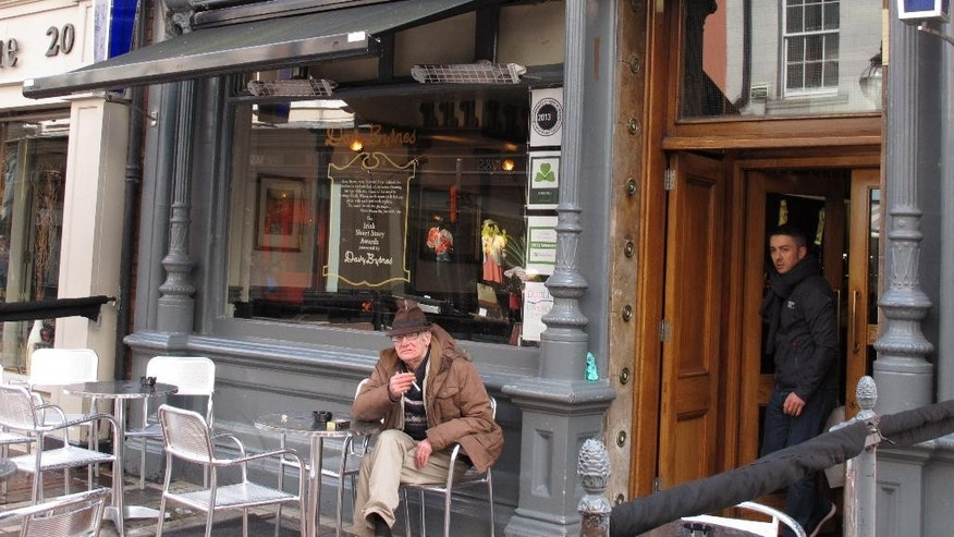Davy Byrne's pub in Dublin city, Ireland.