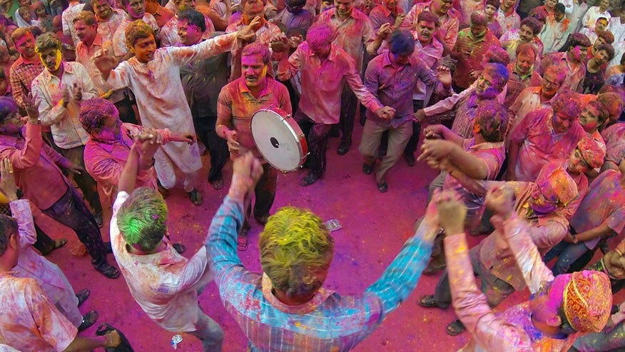 Holi Festival, India: Late February/March