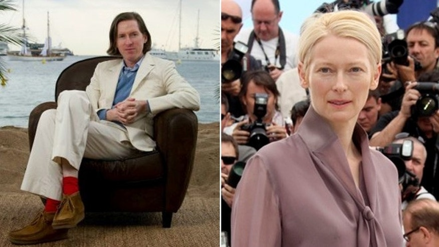 Actress Tilda Swinton joins director Wes Anderson and other passengers on the Cunard Line's flagship for a seven-day New York-to-England sailing beginning June 13.