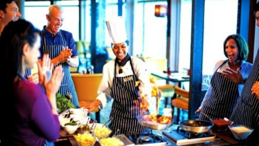 "Luxury line Celebrity Cruises has teamed up with Bravo's ""Top Chef"" to present special themed cruises."