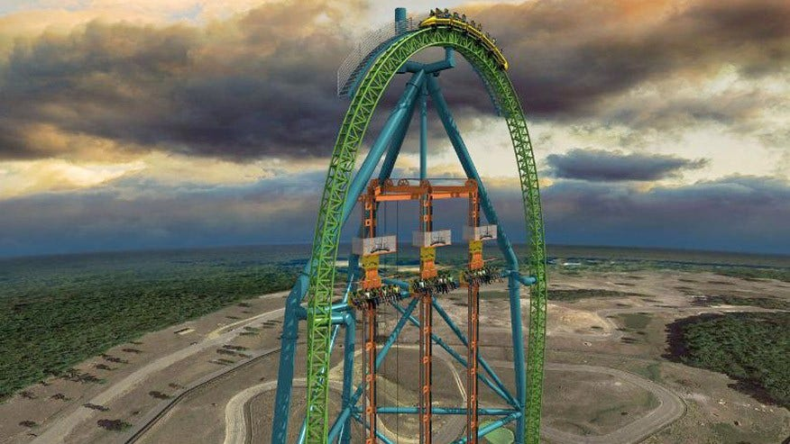 Zumanjaro: Drop of Doom, Six Flags Great Adventure, Jackson, N.J.