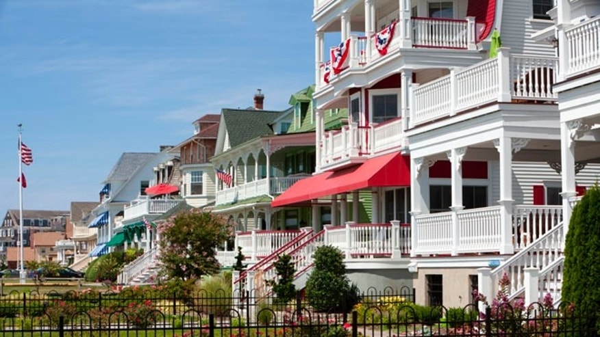 Cape May, which began as a resort for well-heeled people who arrived by steamer and stagecoach from Philadelphia and Baltimore, has Victorian homes that are designated as a National Historic Landmark.
