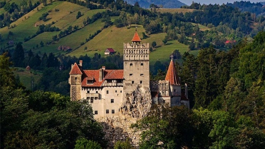 Dracula's Castle in Transylvania has gone up for sale.