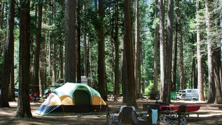 The thought of camping out can be daunting, but packing a few strategically chosen items like an inflatable mattress and food that's easy to grill can reduce the ick factor.