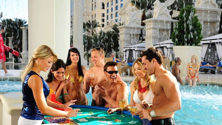 Massages and Swim-up Blackjack