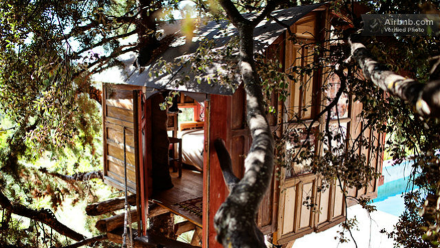 Sierra de Huétor Treehouse— Andalusia, Spain