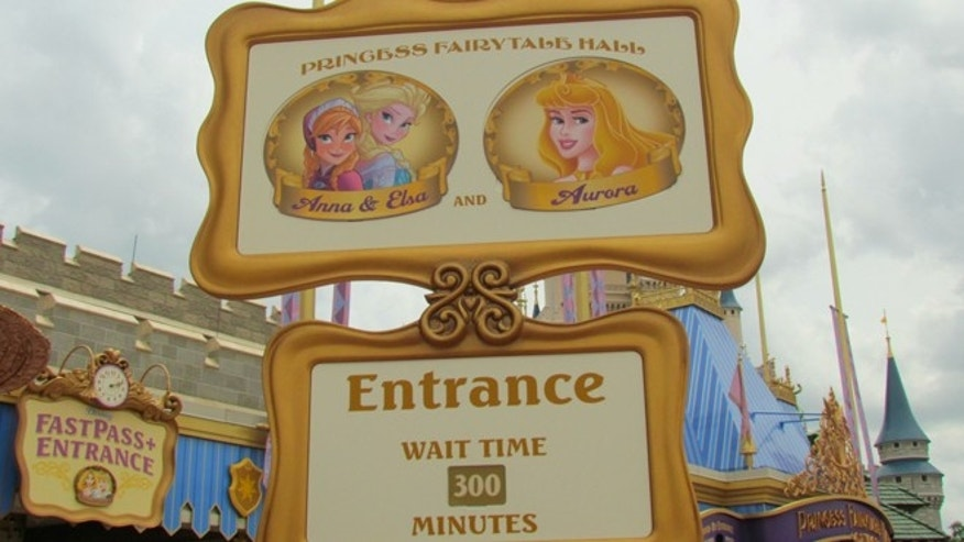 Wait times at the Princess Fairytale Hall in Disney World's Magic Kingdom  can range from three to five hours.
