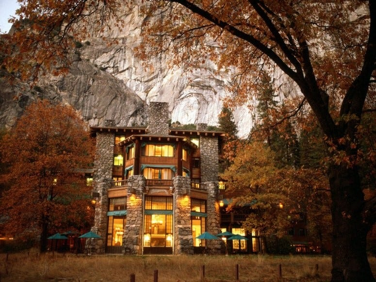 Amazing hotels in us national parks fox news for Amazing hotels
