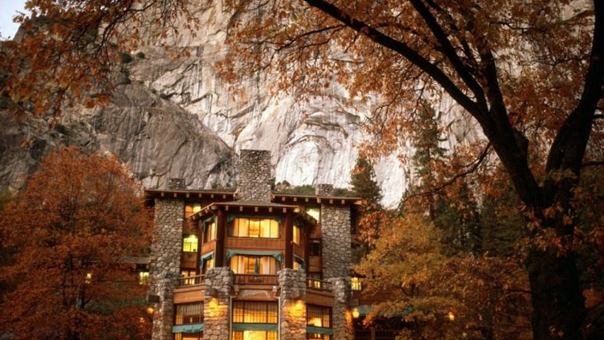 The Ahwahnee Hotel, Yosemite Park, CA