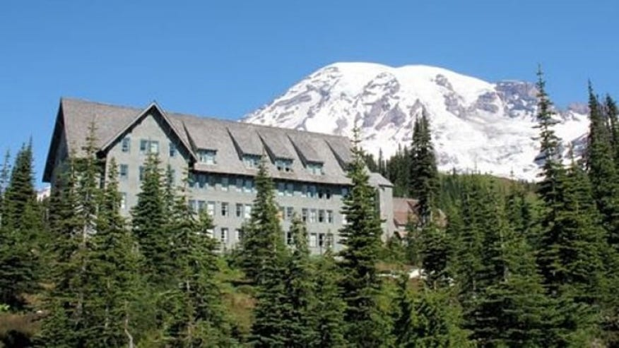 Paradise Inn, Mount Rainier National Park, WA