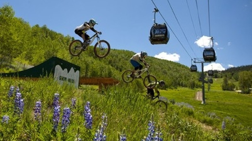 Mountain-biking for the adventurous family in Snowmass.