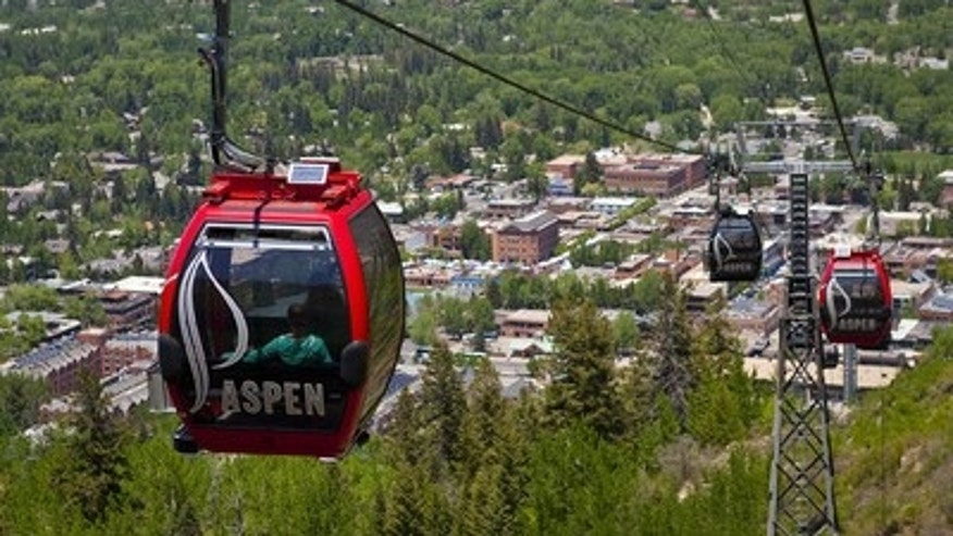 View of Aspen Town.